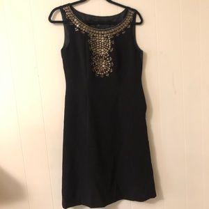 Tahari black dress